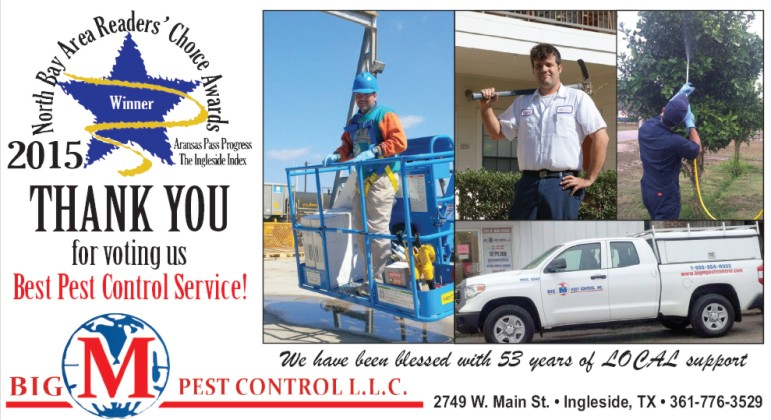 best pest control aransas pass and ingleside