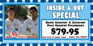Inside and Out Pest Control Coupons
